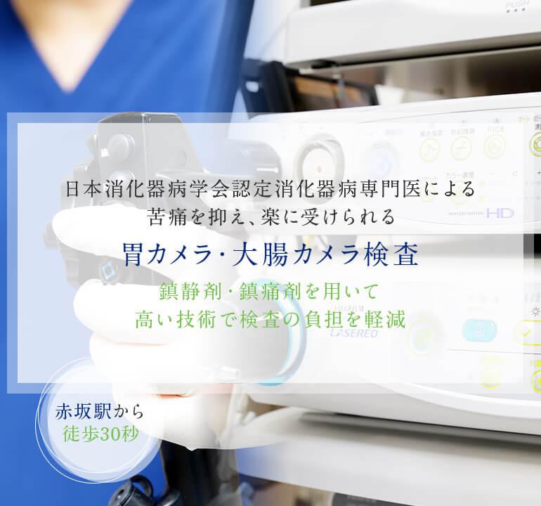 消化器病専門医による苦痛を抑え、楽に受けられる胃カメラ・大腸カメラ検査